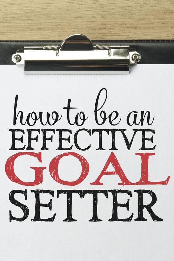 how to set goals and achieve them speech