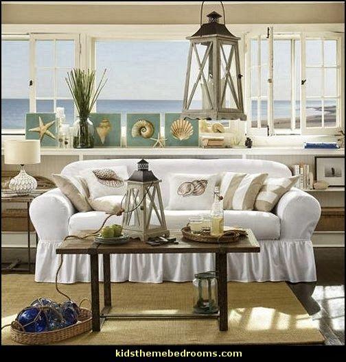 summer style beach bedrooms seaside living seaside cottage