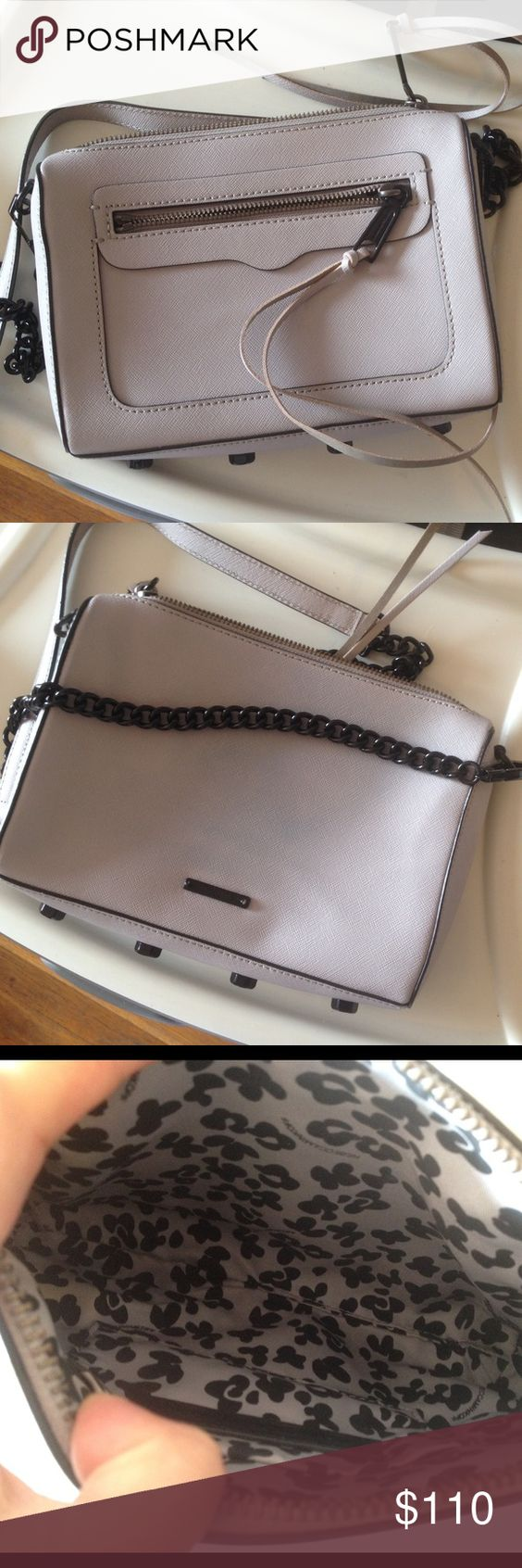 Rebecca Minkoff Avery Crossbody Bag Super cute Crossbody bag in good gently used condition. One side has some denim transfer - please review pics. Open to offers, but no trades! Tory Burch Bags Crossbody Bags