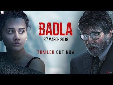 Upcoming Movie Badla Official Trailer Amitabh Bachchan Taapsee