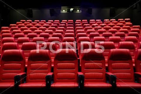 Movie Theater Empty Auditorium With Seats Stock Photos Ad Empty Theater Movie Auditorium Movie Theater Auditorium Seating Auditorium