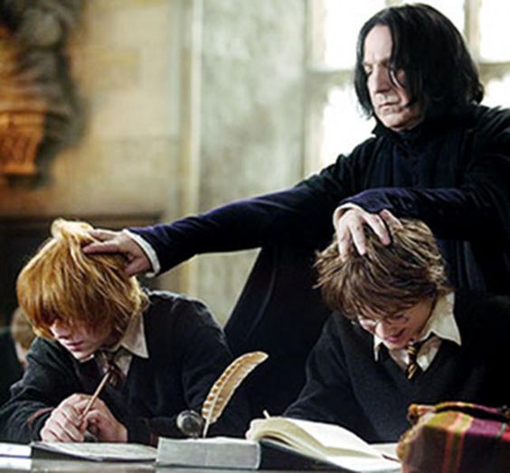 Love Snape....the best person to play him...Rickman is the best