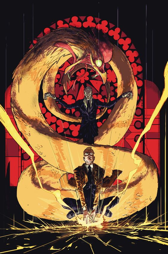 CONSTANTINE, THE HELLBLAZER #8 Written by MING DOYLE and JAMES TYNION IV Art and cover by RILEY ROSSMO