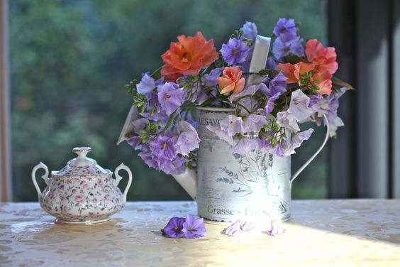 Ramo de rosas, sugar bowl, riego wallpaper