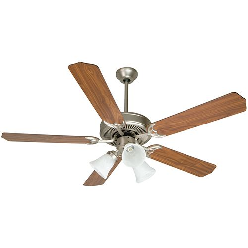 Craftmade K10405 Pro Builder 205 Brushed Satin Nickel Ceiling Fan