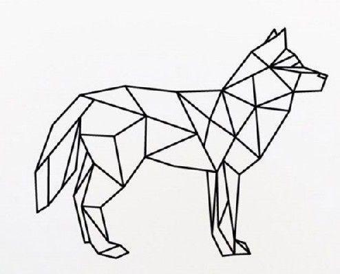 Pin De Caroline Aubin En Handyman Disenos Geometricos Dibujo Geometrico Animales Geometricos