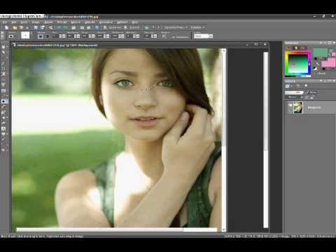 Corel Paint Shop Pro Photo x2 - Retouch Tutorial #2