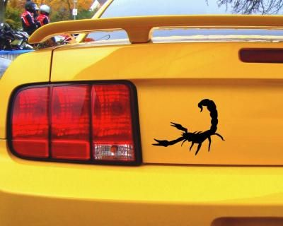 Aufkleber Skorpion Autoaufkleber. Skorpion Aufkleber ab 10cm Größe