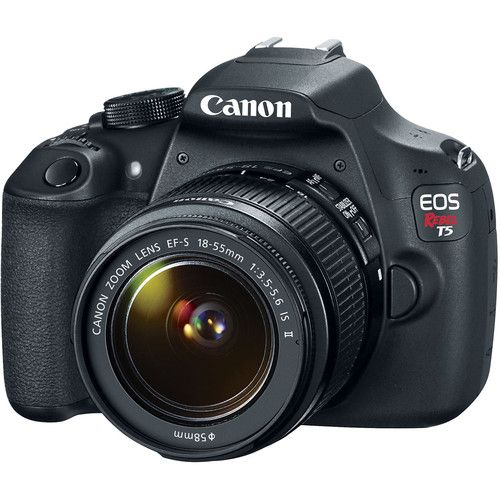 Canon EOS Rebel T5 DSLR Camera with 18-55mm Lens: