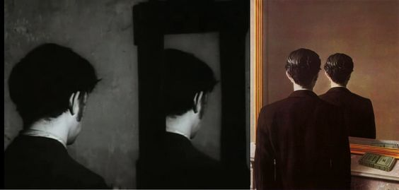 The Flat (1968) by Jan Svankmajer / Not to be Reproduced (1937) by René Magritte