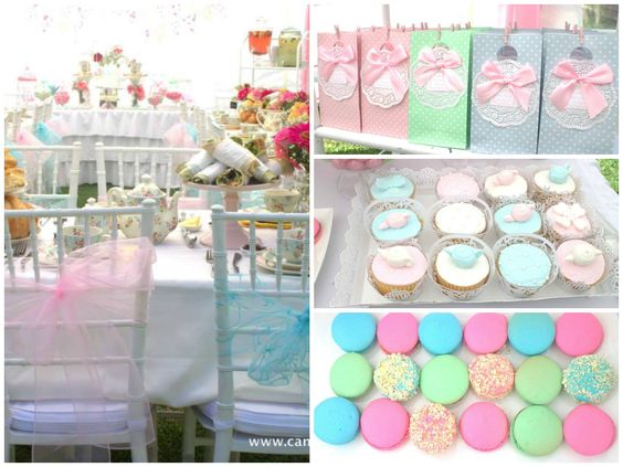 Little Big Company | The Blog: High Tea Bridal Shower by The Candy Queen