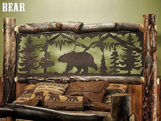 Aspen Estate Light Log Bed With Metal Insert Jhe S Log