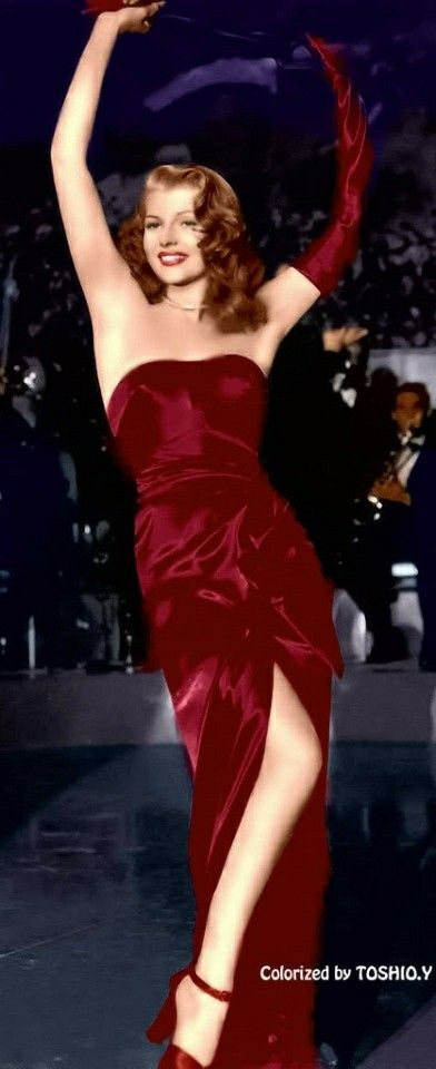 Homecoming Prom Or Red Carpet With Images Classic Actresses Rita Hayworth Actresses