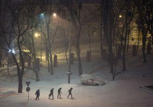 Київ. Снігопад