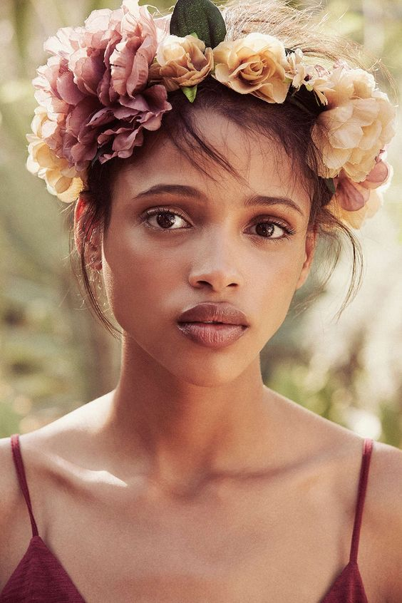 Watercolor Flower Crown - Urban Outfitters: