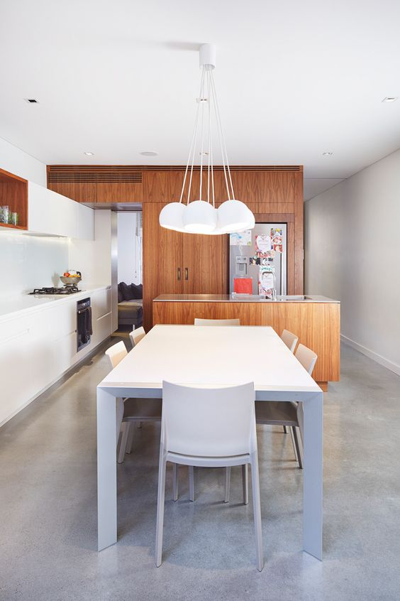 Open house, House and White dining rooms on Pinterest