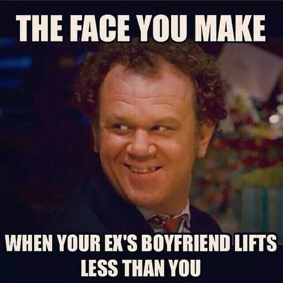 Funny Meme To Send Husband : Lol i read this as the face you make when your ex