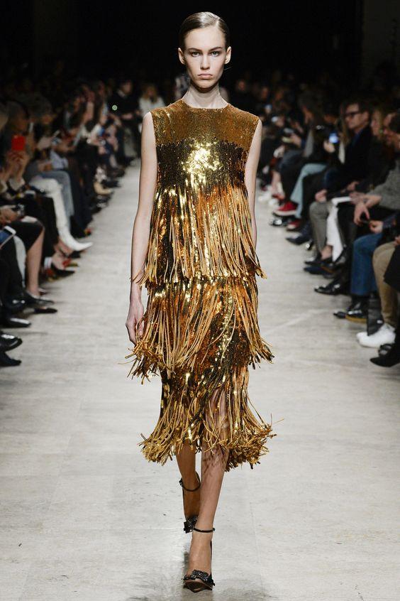 Fringed Fashion: Rochas