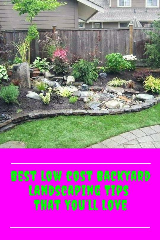 Best Inexpensive Backyard Landscape Tricks For Your Yard Backyard Landscaping Cheap Landscaping Ideas Inexpensive Landscaping