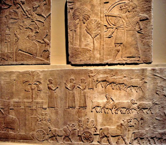 ANCIENT NEAR EAST ARCHITECTURE 2000 540 BC Neo Assyrian Reliefs