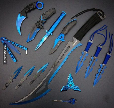 These look AMAZING! When you go into battle you want boss weapons like these
