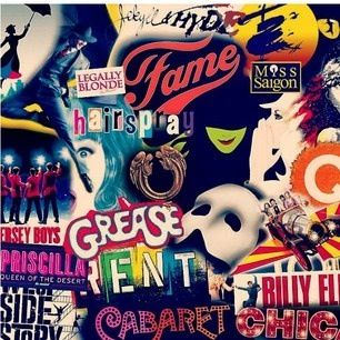 ~ ☮ Broadway Musical Posters  ☮ Wicked, Billy Elliot, Les Mis, Phantom of the Opera, Rent...