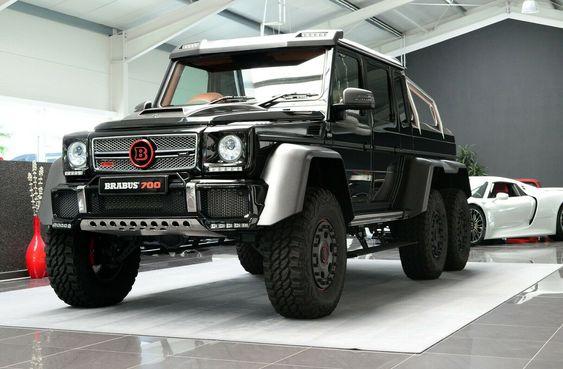Mercedes Benz G 63 Amg 6x6 Brabus700 1of15 Luxury Pulse Cars