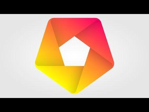 Best Logo Design 3d Logo Design Polygon Corel Draw Tutorials 001 Youtube Cool Logo Best Logo Design Logo Design