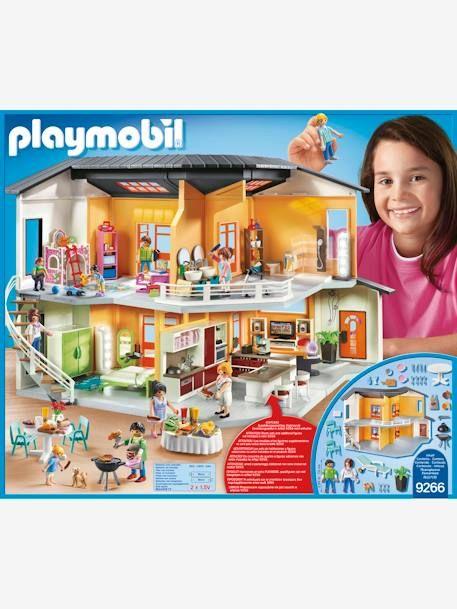 8 Maison moderne Playmobil - ORANGE - 8  Maison moderne