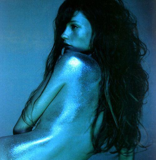 Glamour Mermaids / karen cox.  glamour glitter mermaid: