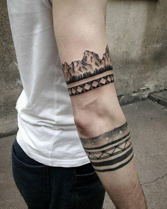 Tatuajes De Brazaletes Para Hombres Tatuaje De Brazalete Tatuajes Chiquitos Tatuajes Hombre Brazo