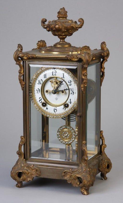 19th C Rococo Gilt Bronze Regulator Clock Feb 09 2013 Great Gatsby S Auction Gallery Inc In Ga In 2020 Antique Wall Clocks Vintage Clock Retro Clock