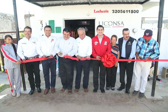 ABREN UN NUEVO PUNTO DE VENTA DE LECHE LICONSA EN COMUNIDAD BENITO JUÁREZ -  http://bit.ly/1jxgXzA -