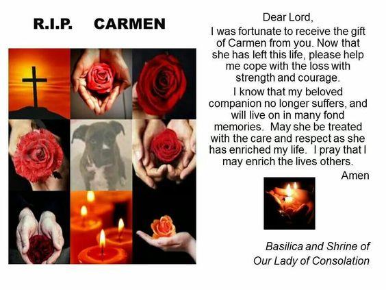 For Carmen, a victim