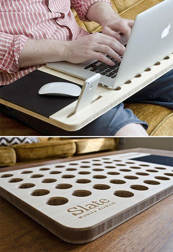 Tastatur- und Mausablage im Selbstbau
