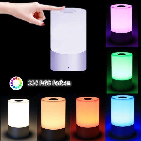 Led Bedside Lamp Touch Sensor Table, Doe Li Touch Lamp