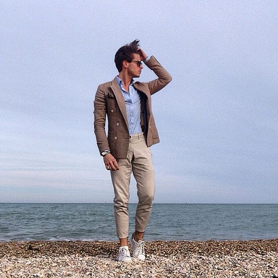 The sound of sea www.simplymrt.com #menswear #sea #style #cool #bespoke #gentlemen #look #outfit #today #relax #fashion