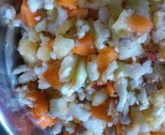Rezept Blumenkohl Rohkostsalat von backbaer - Rezept der Kategorie Vorspeisen/Salate