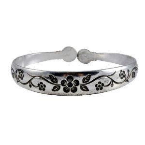White Metal Plum Flower Tibetan Cuff Bracelet, #15 (Jewelry)  http://myspecialdiscount.info/bea.php?p=B007X6I1C8  B007X6I1C8