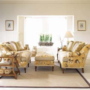 Floral Sofa Cottage Style And Sofas On Pinterest