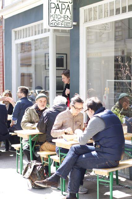 Fantastisch frühstücken in Hamburg: Das Café HEJ PAPA in Hamburg-Neustadt