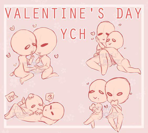 Ych Valentines Day Half Pencil