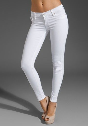 White stretch jeans with a sexy nude heel | fashion favorites ...