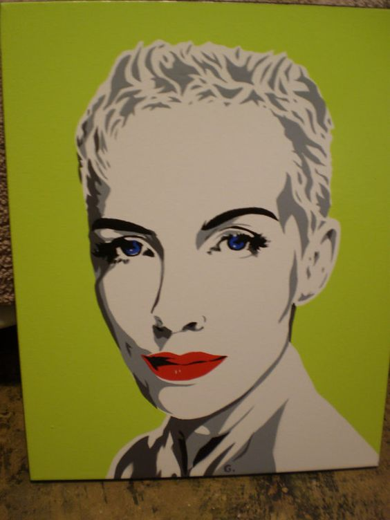 Annie Lennox by AlexColejr on Etsy, $36.99