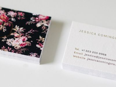 New Business Cards by Jessica Comingore