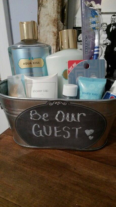 Be our guest basket ♡