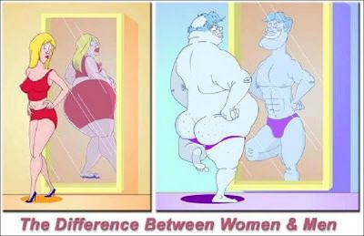 Men and Women have different View Points when it comes to their Bodies