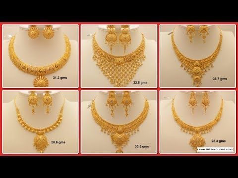 Latest Gold Necklace For Women Under 10grams Simple Light Weight Dialywear Necklace Gold Necklace Designs Gold Necklace Simple Bridal Gold Jewellery Designs
