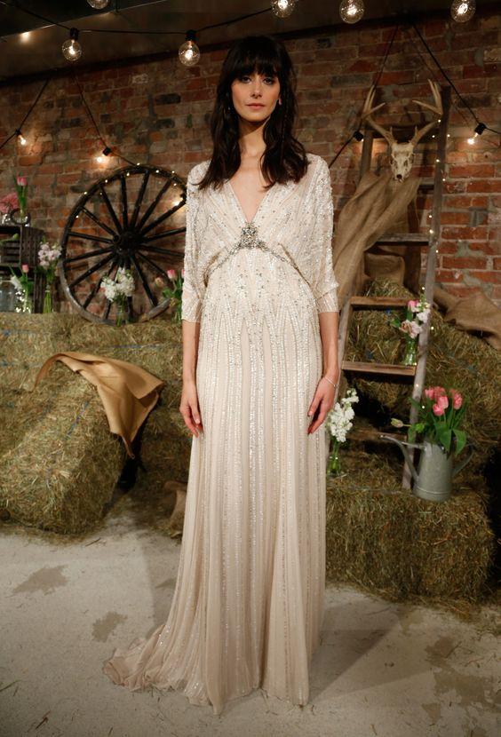 Wedding dress - Jenny Packham 2017 Bridal Collection | itakeyou.co.uk