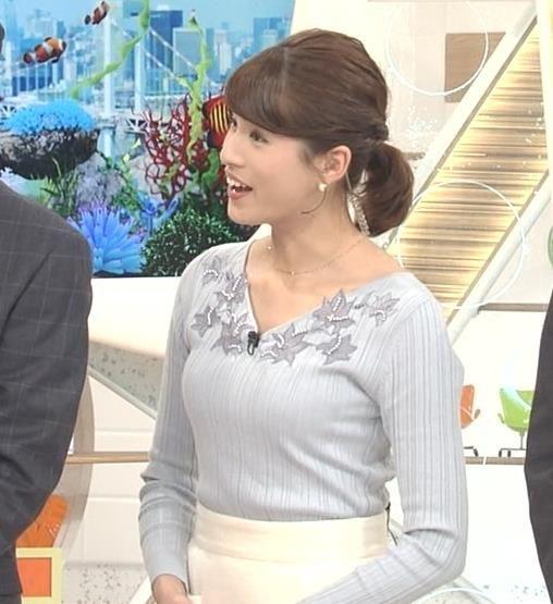 ニュース中の永島優美